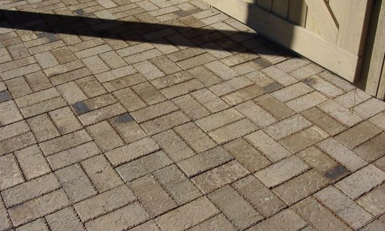 basket weave paver pattern
