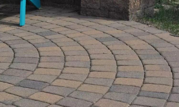 circular paver